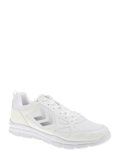 Hummel Unisex Agoptos Sneakers 205641-9001 Beyaz